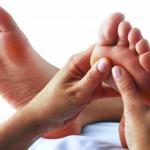 image massage pied