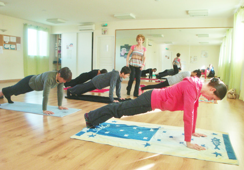 Cours de METHODE PILATES