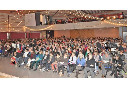 Conférence Nutrition et prévention, organisée par le Centre Odelys. A la salle des fêtes de GAILLAC