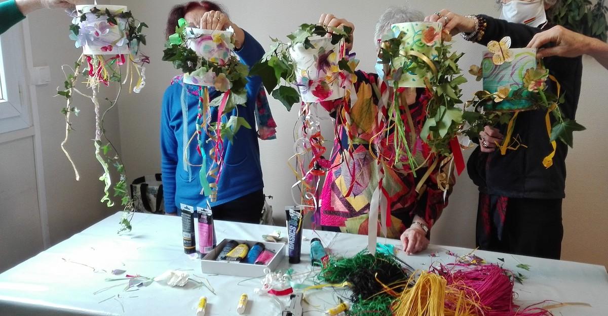Atelier d'art thérapie Gaillac 2021 2022